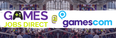 Games Jobs Direct at Gamescom 2019